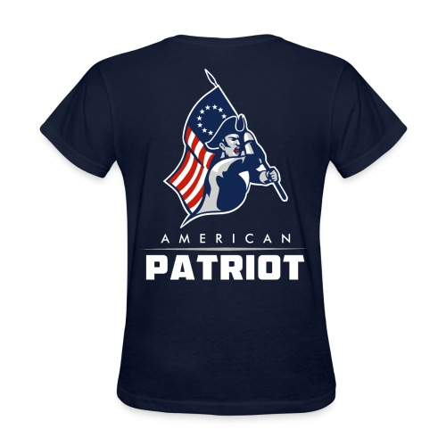 American Patriot  - Women's T-Shirt