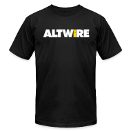 T-Shirts ~ Men's T-Shirt by American Apparel ~ AltWire Men's Slim Fit Shirt