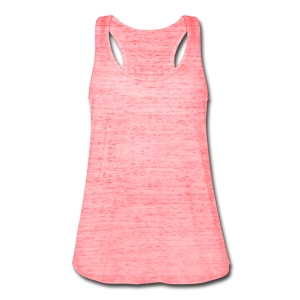 Womens plain pink - Women's Flowy Tank Top by Bella