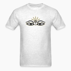 Buddha, third eye, symbol wisdom & enlightenment T-Shirts