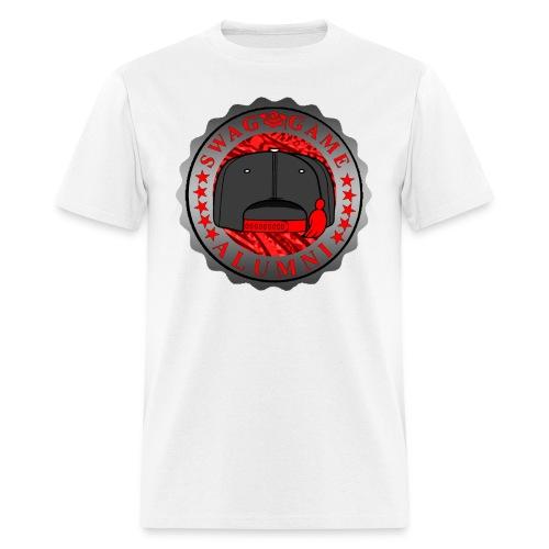 Grey/Red/Black - Men's T-Shirt