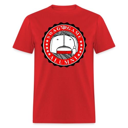 Red/White/Black - Men's T-Shirt