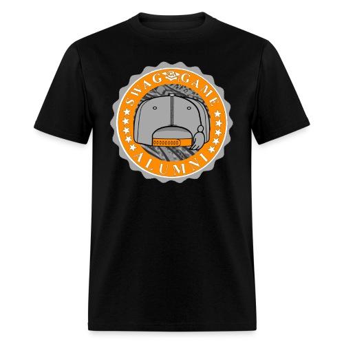 Orange/Grey - Men's T-Shirt