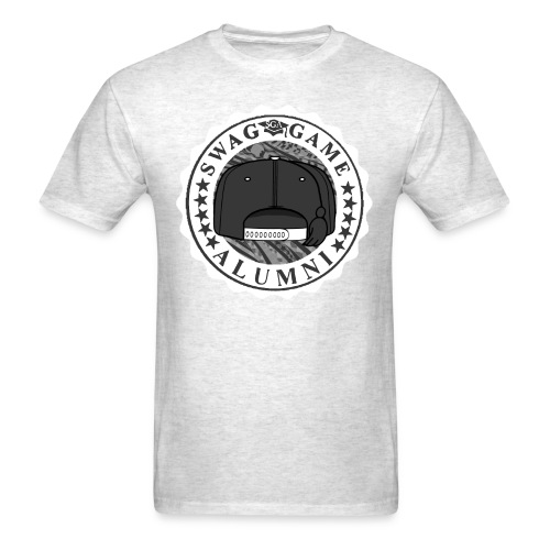 Grey/White - Men's T-Shirt