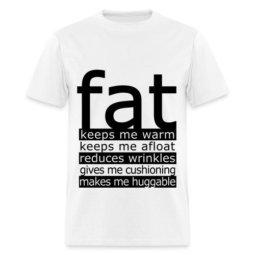 #Fat - Men's T-Shirt