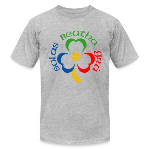 Solas Beatha Gra (Light, Life, Love in Gaelic) - Men's Fine Jersey T-Shirt