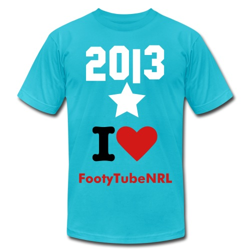 Love for 2013 Footy - Men's  Jersey T-Shirt
