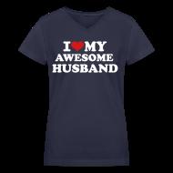 T-Shirts ~ Women's V-Neck T-Shirt ~ Article 13542123