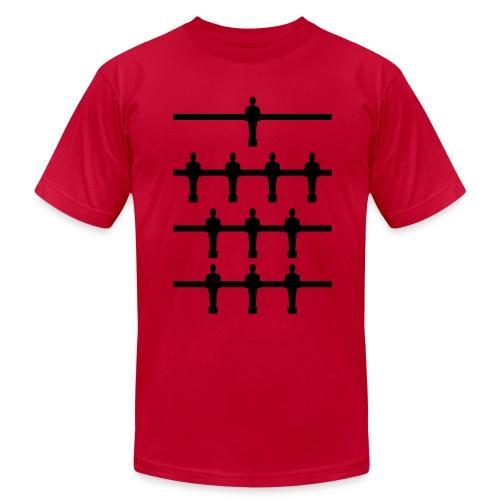 Foosball Formations 4-3-3 - Men's  Jersey T-Shirt