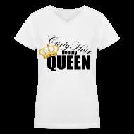 T-Shirts ~ Women's V-Neck T-Shirt ~ Article 13542455