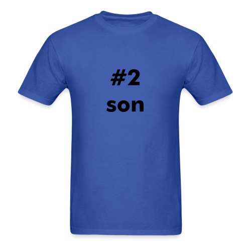 #2 Son - Men's T-Shirt
