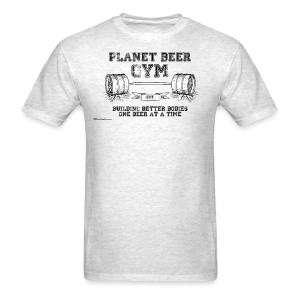 Planet Beer Gym Men's T-Shirt - Men's T-Shirt