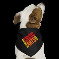Other ~ Dog Bandana ~ Dog bandanna red orange & yellow logo