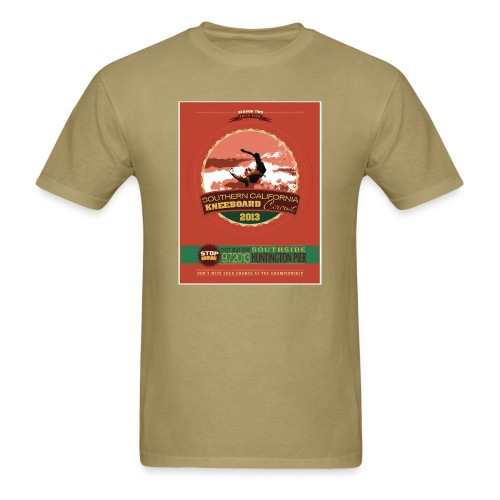 Season Two - Huntington Pier - Men's T-Shirt