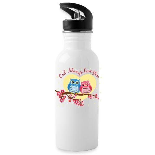 owl always love you - Water Bottle