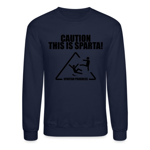 Caution Sweatshirt - Crewneck Sweatshirt