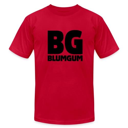 BlumGum Men's Logo Shirt - Men's Fine Jersey T-Shirt