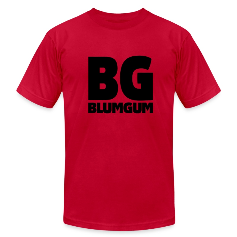 BlumGum Men's Logo Shirt - Men's T-Shirt by American Apparel