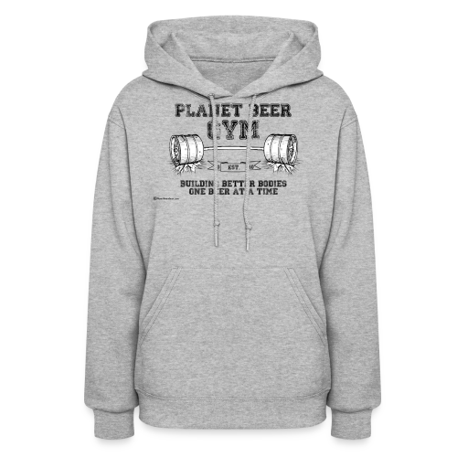 Planet Beer Gym Women's Hooded Sweatshirt - Women's Hoodie
