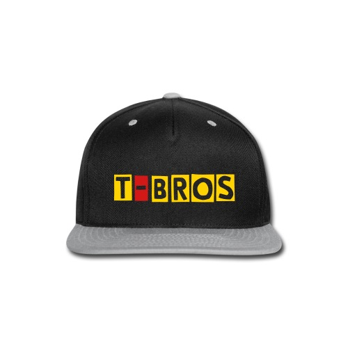 T-Broas Purple and Yellow Snapback - Snap-back Baseball Cap