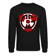 Long Sleeve Shirts ~ Crewneck Sweatshirt ~ Sweatshirt Shield