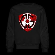Long Sleeve Shirts ~ Crewneck Sweatshirt ~ Sweatshirt Shield