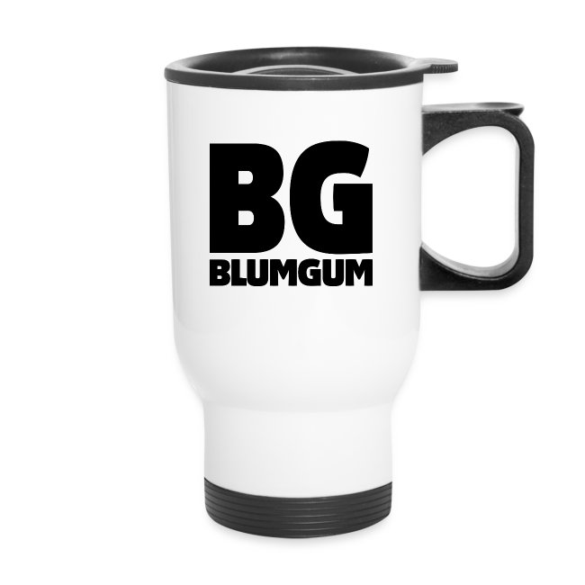 BlumGum Logo Travel Mug