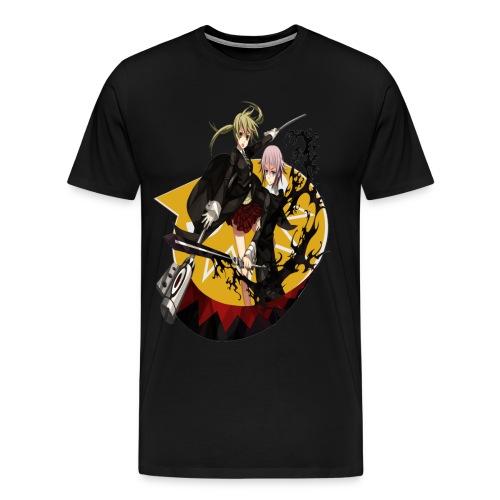 Men's Soul Eater Maka & Crona Shirt (2) - Men's Premium T-Shirt