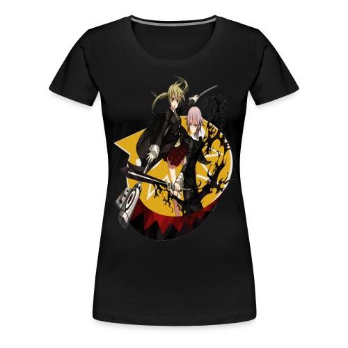 Women's Soul Eater Maka & Crona Shirt (2) - Women's Premium T-Shirt