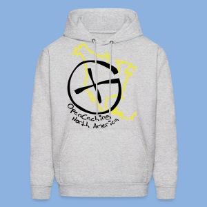 OCNA Logo Grey Hoodie - Men's Hoodie