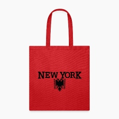 New York Albanian Flag Bags & backpacks