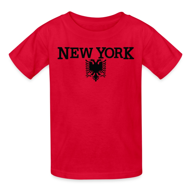New york albanian flag clothing apparel tee t shirt for New york and company dress shirts