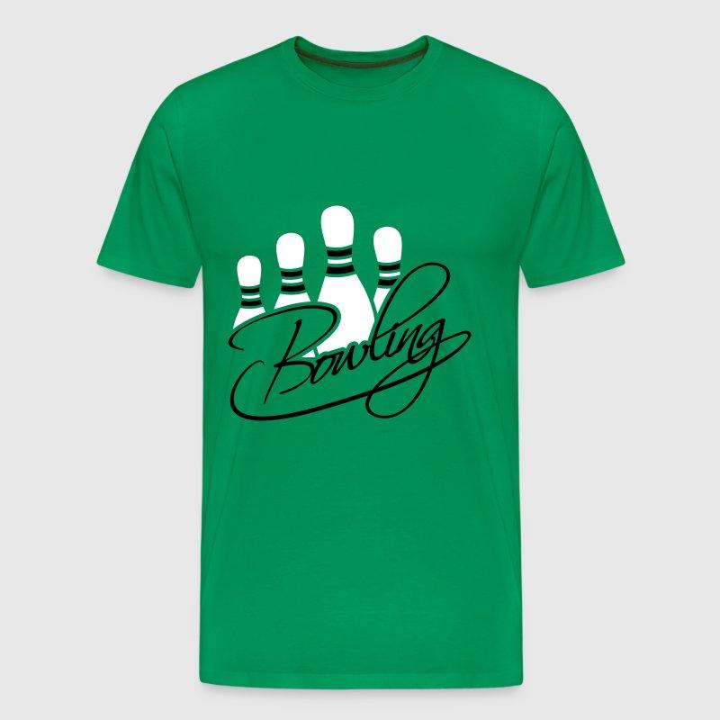 Bowling Pins Text Logo Design T Shirt Spreadshirt