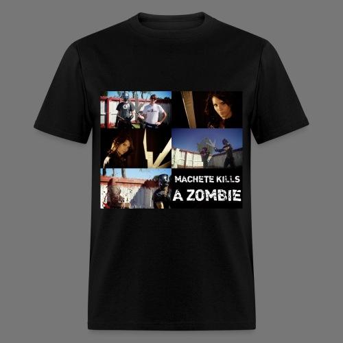 MACHETE KILLS A ZOMBIE - Men's T-Shirt