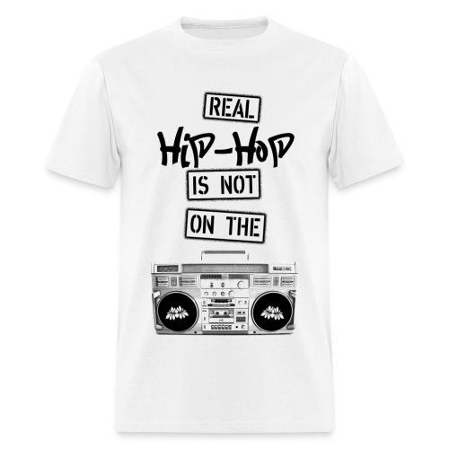 Real Hip Hop T-Shirt - Men's T-Shirt