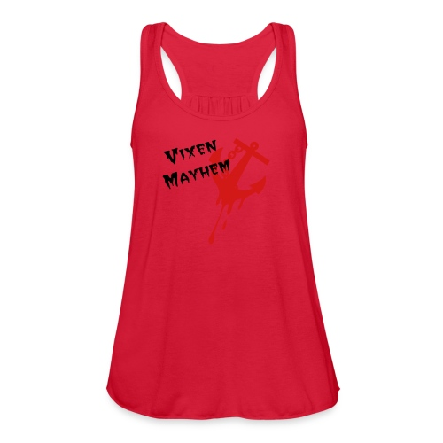 Reina Del Mar's Vixen Mayhem - Women's Flowy Tank Top by Bella