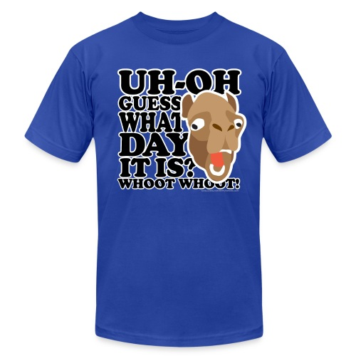 Camel Hump Day, Guess What Day It Is?!? - Men's Fine Jersey T-Shirt