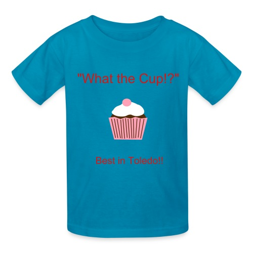 What the Cup!? - Kids' T-Shirt