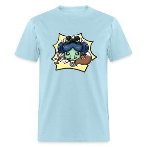 Nerdy Paca Men's Tee - Men's T-Shirt