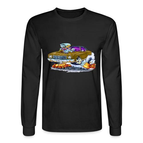 1970 Monte brown car - Men's Long Sleeve T-Shirt