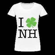 Women's T-Shirts ~ Women's Premium T-Shirt ~ I Clover NH