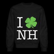 Long Sleeve Shirts ~ Crewneck Sweatshirt ~ I Clover NH