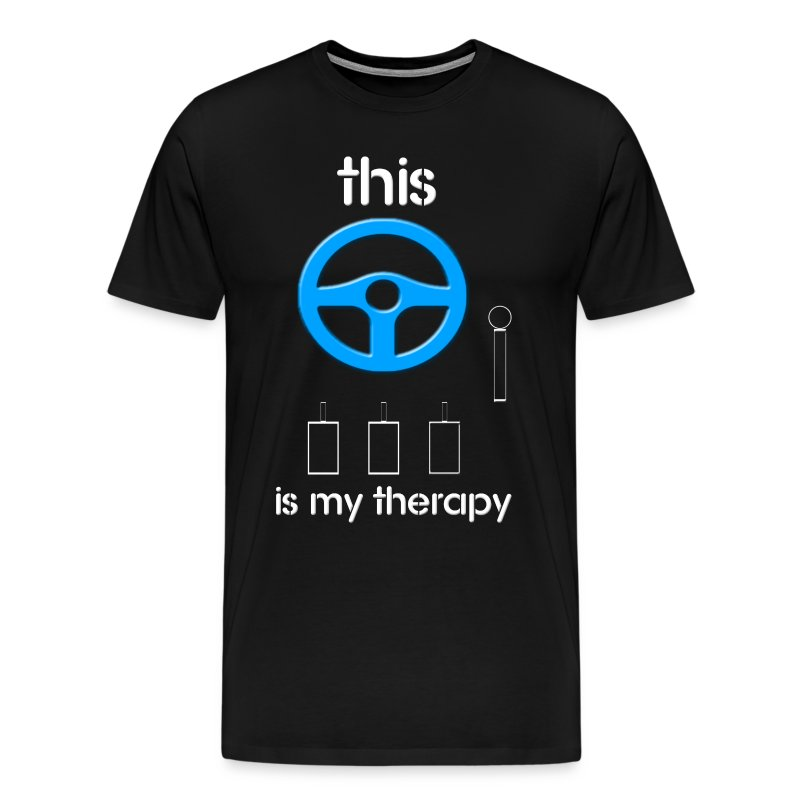 Driving Therapy Shirt! - Men's Premium T-Shirt