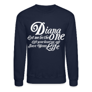Long Sleeve Shirts ~ Crewneck Sweatshirt ~ LIFT YOUR HEART
