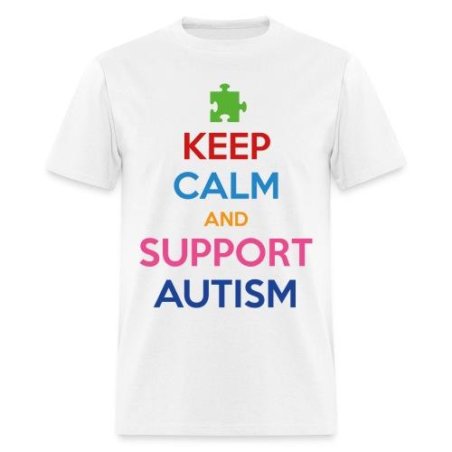 Support Autism T-Shirt - Men's T-Shirt