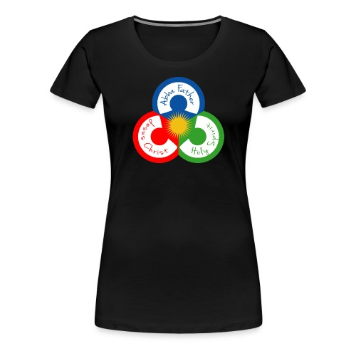 The Trinity in Unity - Women's Premium T-Shirt