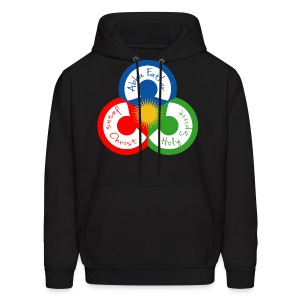 The Trinity in Unity - Men's Hoodie