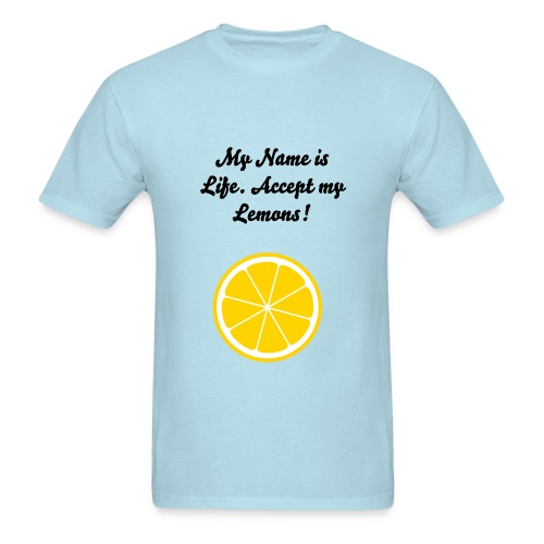 Life and Lemons - Men's T-Shirt