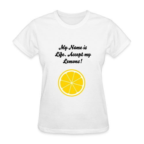 Life and Lemons - Women's T-Shirt