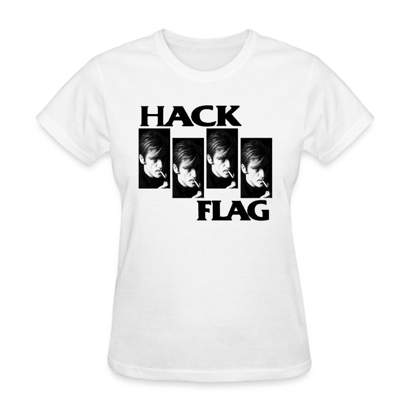 Hack Flag Girl - Women's T-Shirt